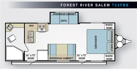 forest river travel trailer floor plans 28 2006 salem travel trailer floor plans 2004