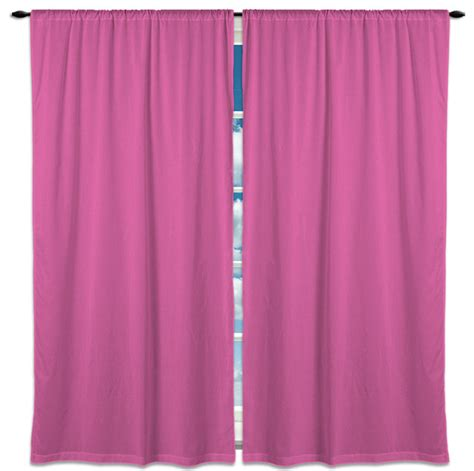 Light Pink Window Curtains Light Pink Solid Color Stripes Window Curtains 80x63 Modern Curtains By Visionbedding