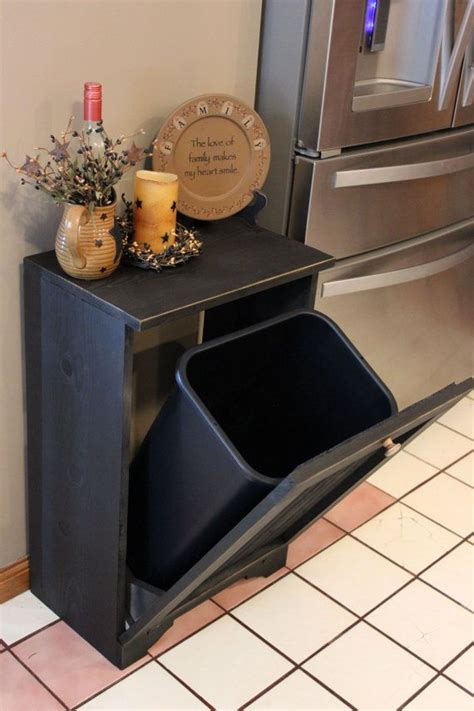 kitchen bin ideas 25 best ideas about trash bins on pinterest trash can cabinet hidden trash can kitchen and