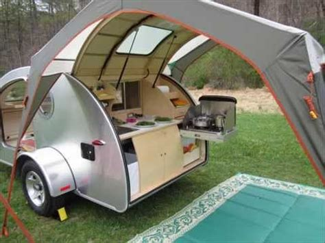 gidget retro teardrop cer vistabule teardrop trailer second outing youtube