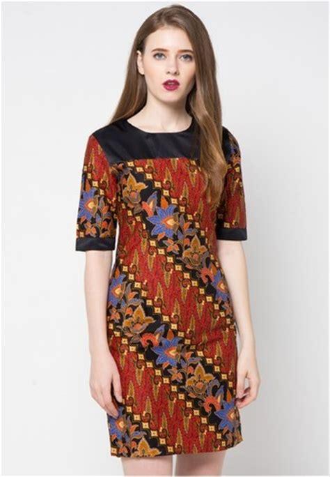 Baju Wanita Motif Batik Atasan Batik Wanita Resmi contoh model baju batik terbaru dengan desain cantik dan