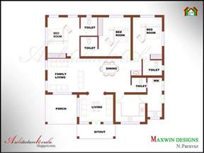 3 floor house plans 3 bhk single floor kerala house plan and elevation