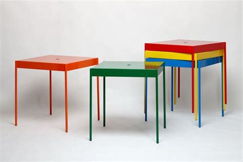 Stackable Tables by La Table Stackable Furniture By Jouni Leino