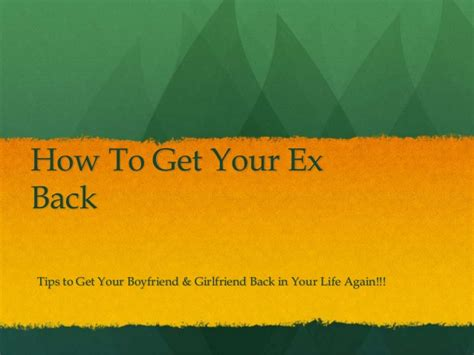 get your ex back how to get your ex back books how to get your ex gf bf back