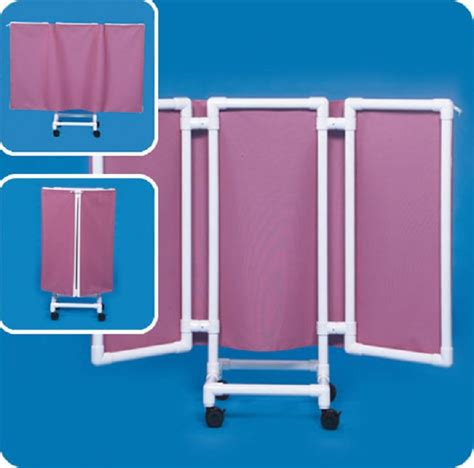 portable privacy curtain ipu 3 panel fold in privacy screen with pvc frame