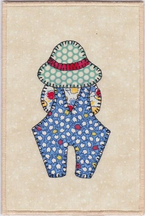 Overall Bill Quilt Pattern by 20 Best Images About Sunbonnet Sue On
