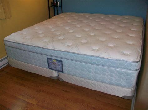 king size sealy posturepedic top firm mattress set