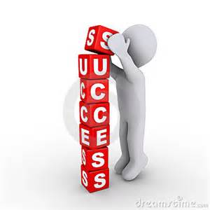 Concrete Business Cards building the success blocks stock images image 23358454