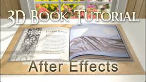 Custom 3d Book After Effects Tutorial Youtube After Effects Book Opening Template