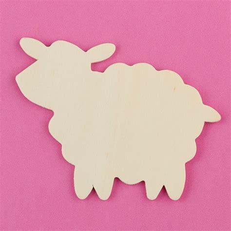 pattern for wood cutouts unfinished wood sheep cutout animal and pet cutouts