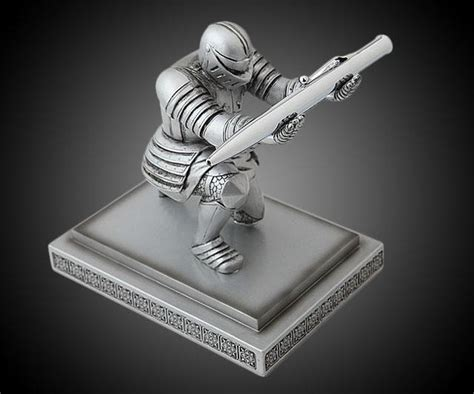 Executive Knight Pen Holder | executive knight pen holder dudeiwantthat com
