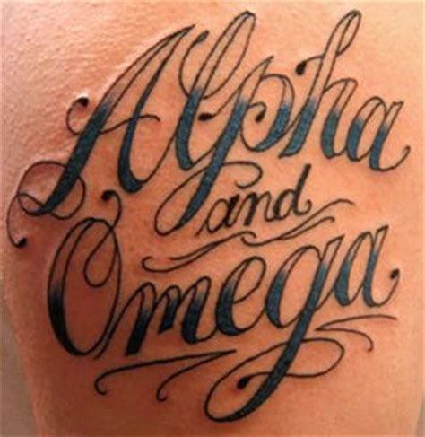 alpha and omega tattoo alpha omega faith and inspiration