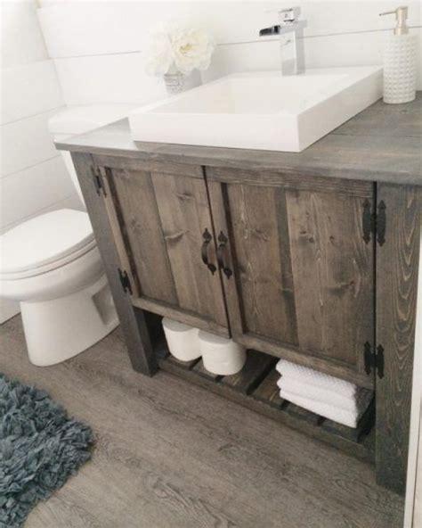 diy bathroom cupboards 20 gorgeous diy rustic bathroom decor ideas you should try