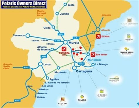 murcia polaris world rentals direct from the owners