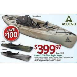 black friday tv deals walmart 2014 ascend fs10 titanium sit in angler kayak at bass pro shops