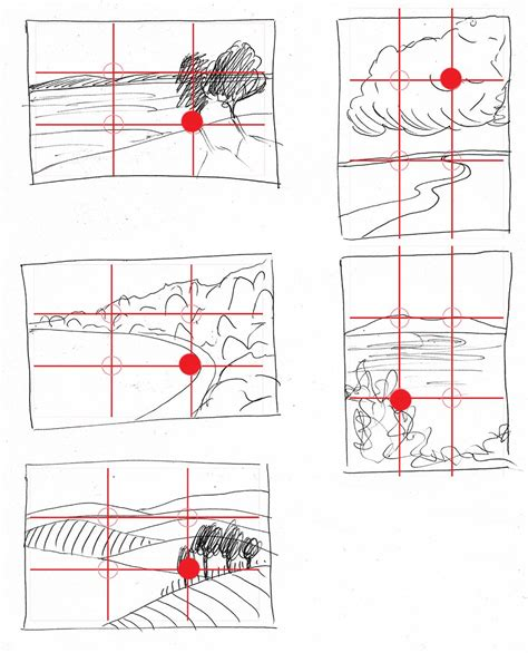layout composition rules composition rule of thirds landscape painting clair