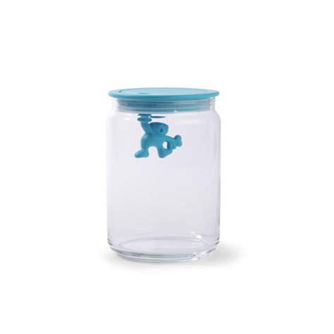 light blue jars alessi gianni light blue storage jar 15cm homeware