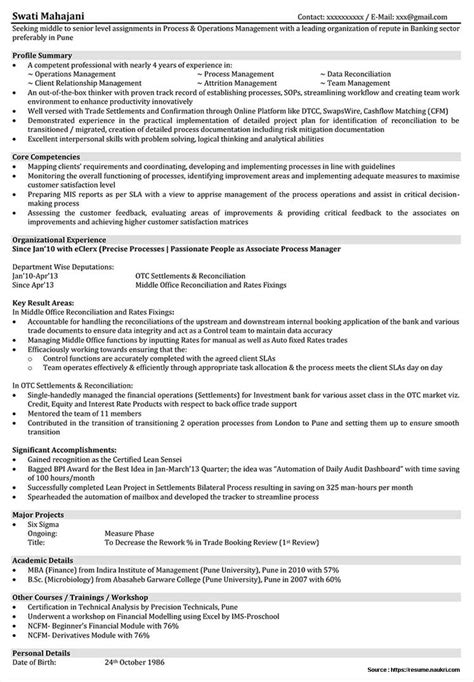 resume format for assistant manager operations bpo sle resume for mba operations freshers resume resume exles lbarn4pawo