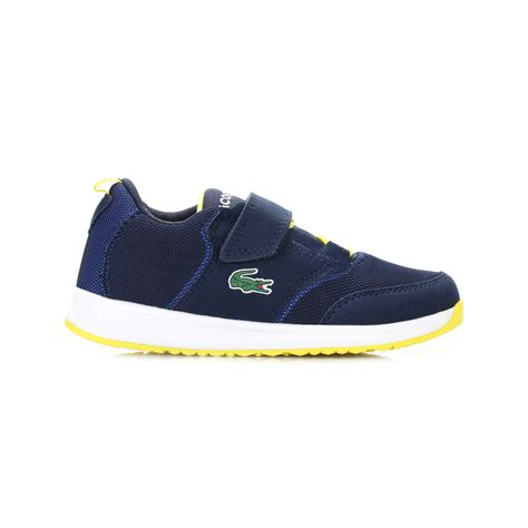 Lacoste Dompet Import Brown lacoste unisex toddlers navy blue trainers l ight 117 1 spc shoes