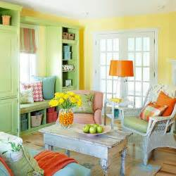 Living room yellow walls interior decorating