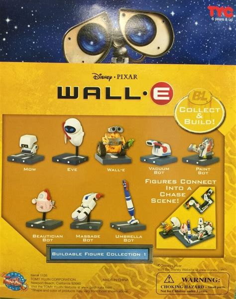 wall e figure toys disney pixar wall e playset 8 figures walle e pixar