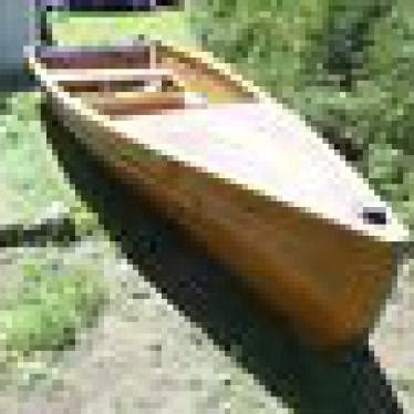 Handmade Canoe For Sale - unique wooden canoe canot roby 18 handmade white