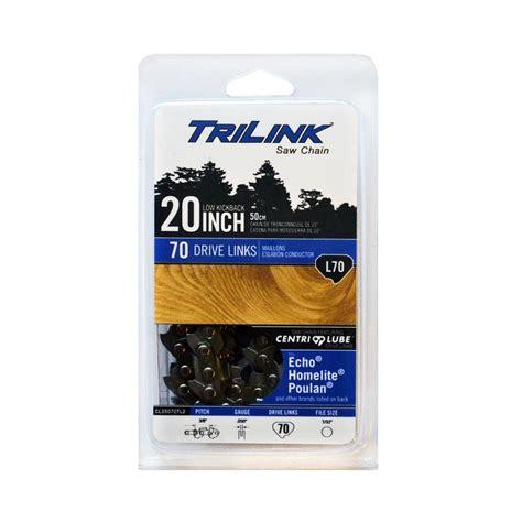 cl l home depot trilink 20 in l70 semi chisel chainsaw chain cl35070tl2