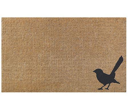 Bird Doormat by Willy Wagtail Bird Doormat