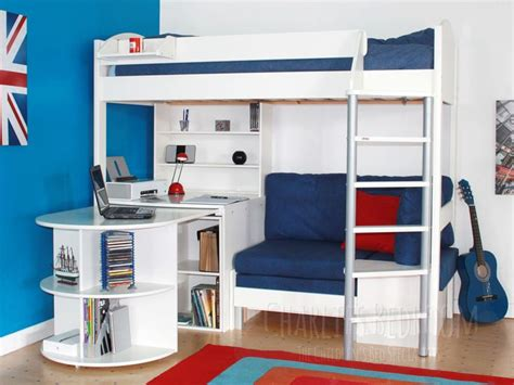 High Sleeper With Futon And Desk by Best 25 High Sleeper Ideas On High Sleeper