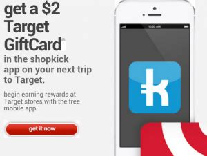 How To Print Shopkick Gift Cards - shopkick free 2 target gift card smartphone required couponing 101