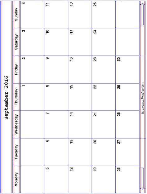 printable calendar 2016 printfree 092016rwb2mon gif
