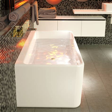 caroma bathtubs cube 1800 back to wall freestanding bath http www caroma