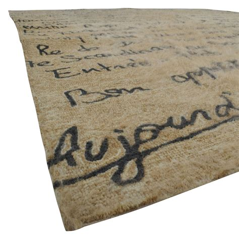 rugs with writing on them 90 beige with writing in black rug decor