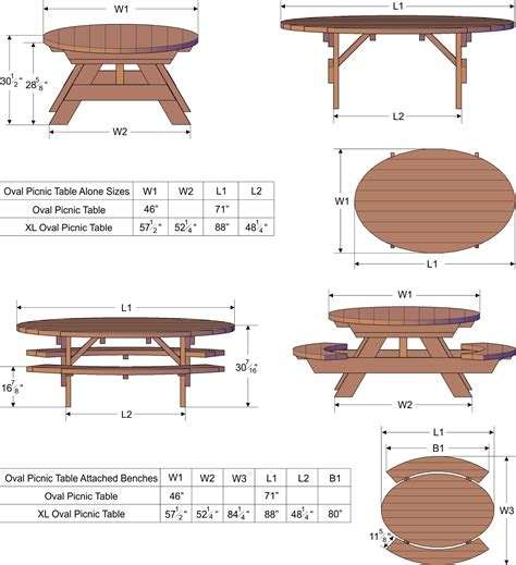 picnic bench dimensions how to build a picnic table with unattached benches