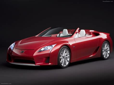 Lexus Lfa Roadster Concept Car Images Exotic Car