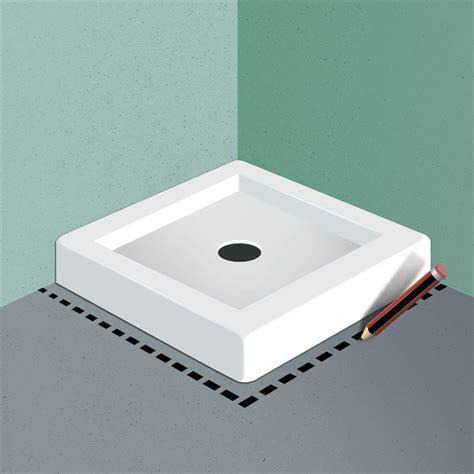 come posare piatto doccia come posare messa in posa cemento with come posare