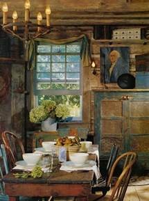 Rustic Chic Dining Room Ideas by Vintage Style Decorating Ideas Primitive Home Decor Style