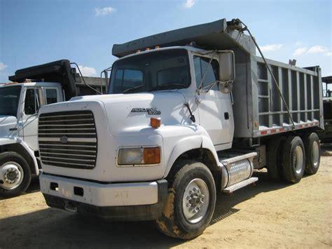 ford dump trucks 1995 ford l9000 dump truck heavyhauling ford trucks