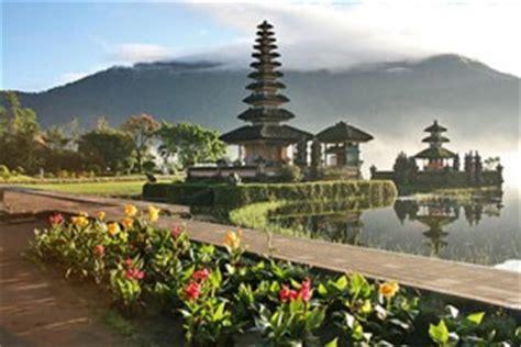 Lukisan Danau Bratan Pura Ulun Bedugul 80x60 Bali 8 tempat wisata di bali daftar objek pariwisata untuk liburan
