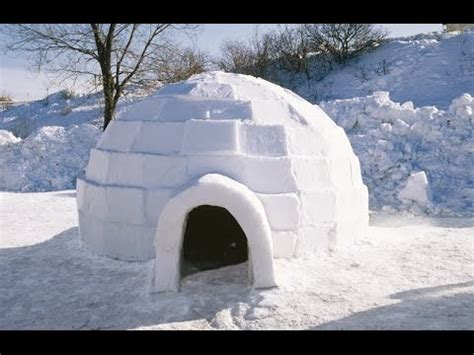 how to build a igloo to c in warm