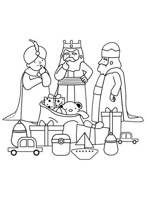 dibujos de navidad para colorear e imprimir reyes magos reyes magos dibujo para colorear e imprimir