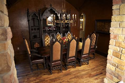 gorgeous gothic style dining room  images gothic