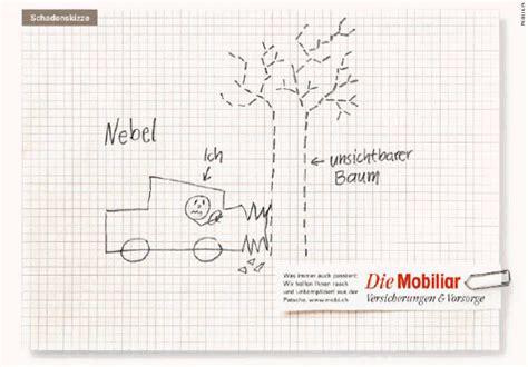 Versicherung Von Motorrad Auf Auto by Foto Mobiliar Skizze 2 Jpg Vom Artikel Schadenskizzen