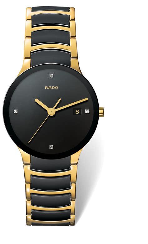 Rado Centrix men's diamond set two tone bracelet watch
