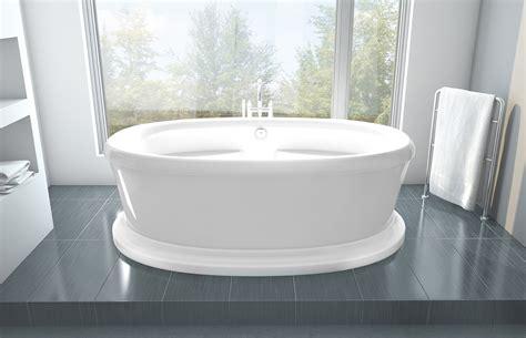 oceania bathtubs oceania legende pedestal 71 quot x 41 5 quot x 24 quot freestanding