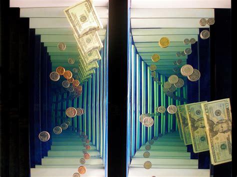 corporate interior endless illusion mirror wall  phil