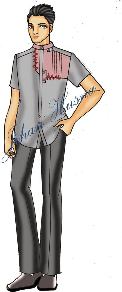 Baju Koko Zig Zag Terlaris desain kemeja pria jihanhusna spesialis rumah jahit