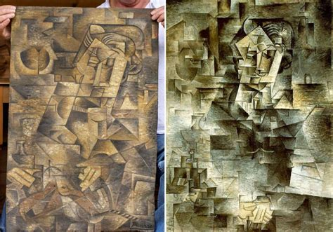 picasso paintings worth dominic currie finds 163 115million picasso painting in his