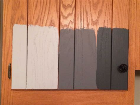 how to paint stained wood furniture without sanding