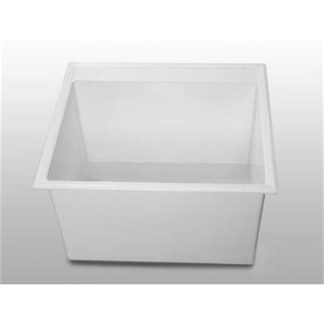 fiat drop in laundry sink upc 088754031723 laundry tub 24 5 in x 22 in self